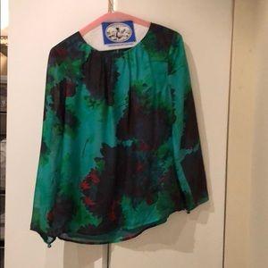 Women's silk Jcrew blouse